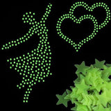 100 Pieces Glow in the Dark Stars