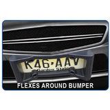 Front Bumper Protection License Plate Frame
