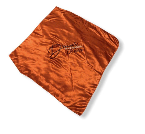 Red/Orange Satin Scarf - DH LLC- Dmayahair