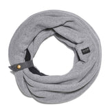 GILLIO | Gray Colors | Infinity Scarf for Women, Winter Scarf Collection - GAZUR STUDIO