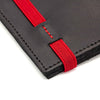 THE ZIPPER - in black / red band - GAZUR STUDIO