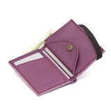 THE WALLET - in purple / black band