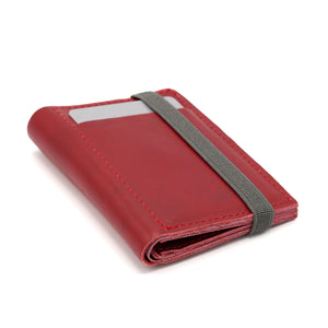THE WALLET - in red / gray band