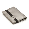 THE WALLET - in silver / gray band - GAZUR STUDIO