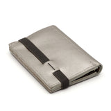 THE WALLET - in silver / gray band
