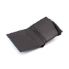 THE ZIPPER - in black / black band - Wallets - GAZUR STUDIO