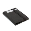 THE WALLET - in Smooth and textured black / black band - GAZUR STUDIO
