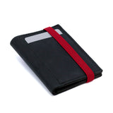 THE WALLET - in black / red band