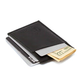 Super slim minimalist Black Cards Holder