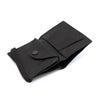 THE WALLET - in Smooth and textured black / black band