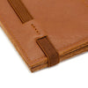 THE ZIPPER - in camel / brown band - GAZUR STUDIO