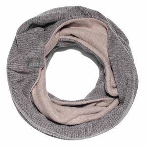 ALBA | Beige | Men scarf for winter - GAZUR STUDIO