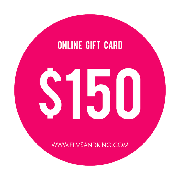 $150 Online Gift Card