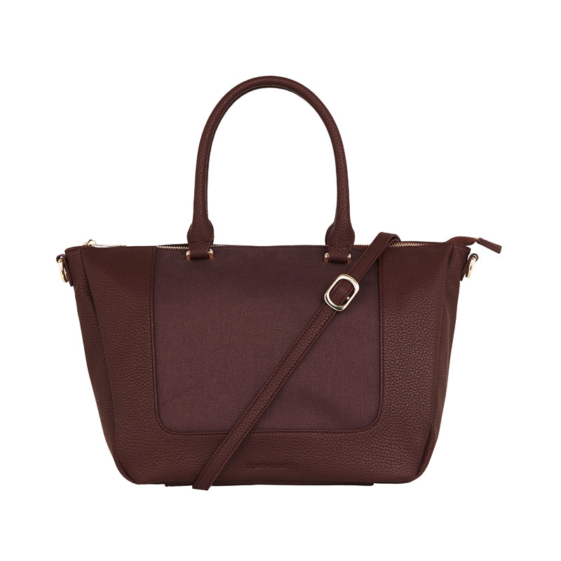 Liberty Handbag - Pinot Canvas