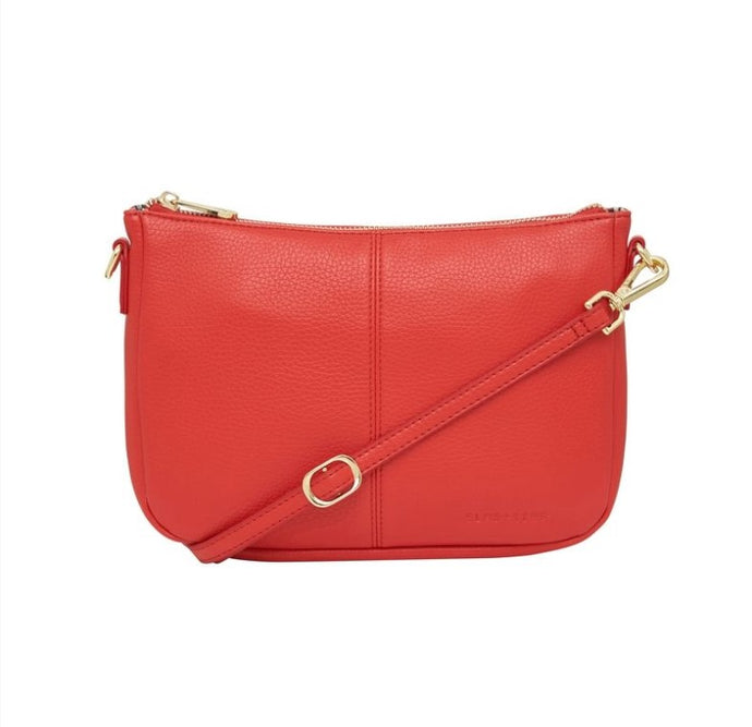 Small Bowery Shoulder Bag - Red