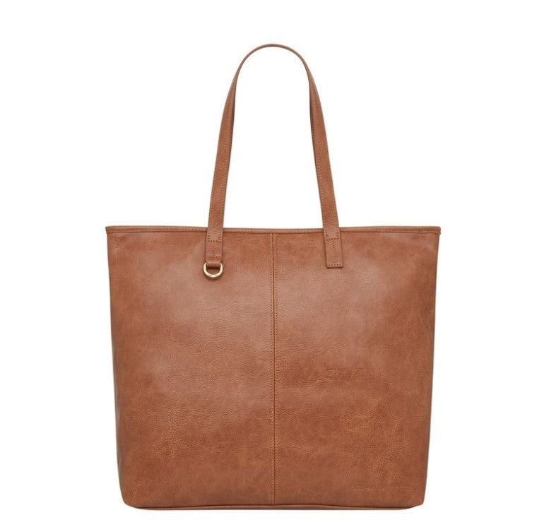 Primrose Tote - Tan Pebble