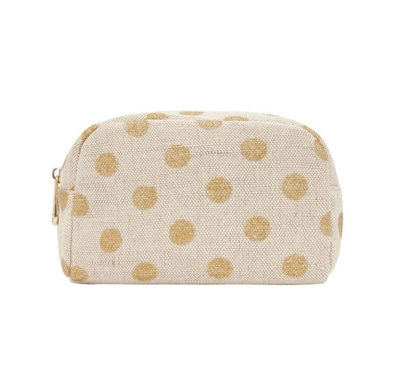 EK Small Cosmetics Bag - Gold Spot