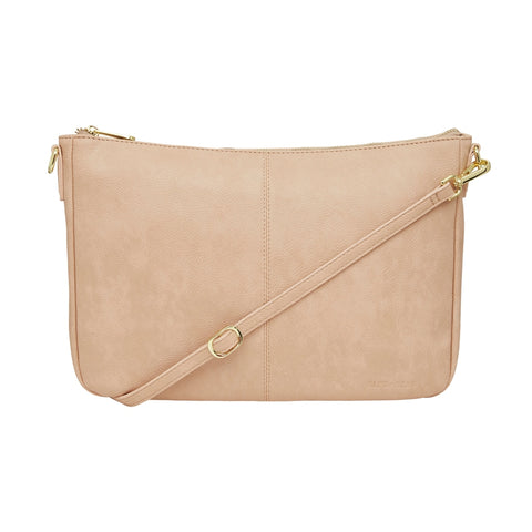 Bowery Shoulder Bag - Nude Pebble