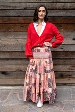 Byron Tiered Skirt - Paisley