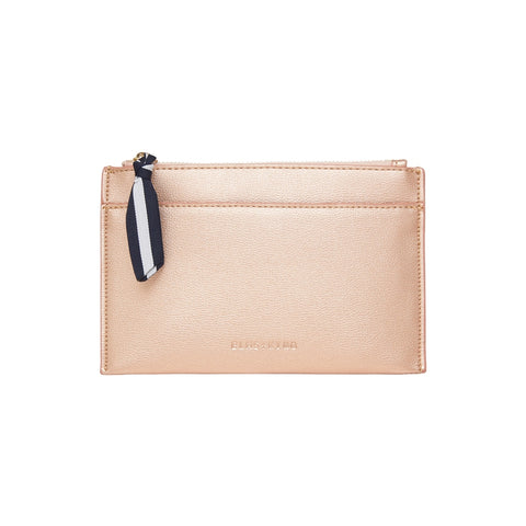 New York Coin Purse - Rose Gold