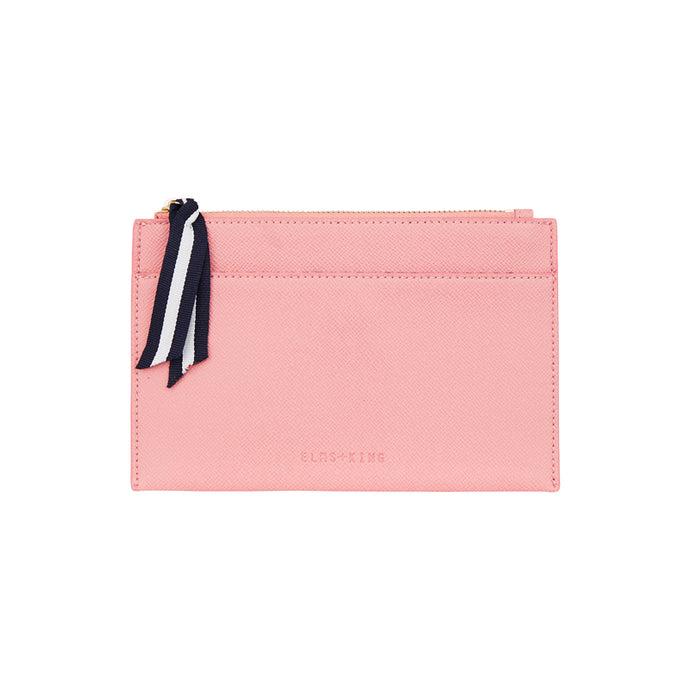 New York Coin Purse - Carnation Pink