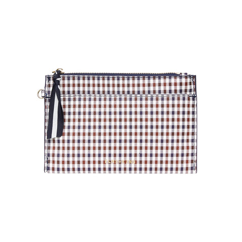 New York Coin Purse - Winter Check