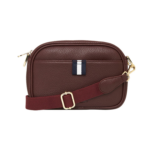 New York Camera Bag - Plum
