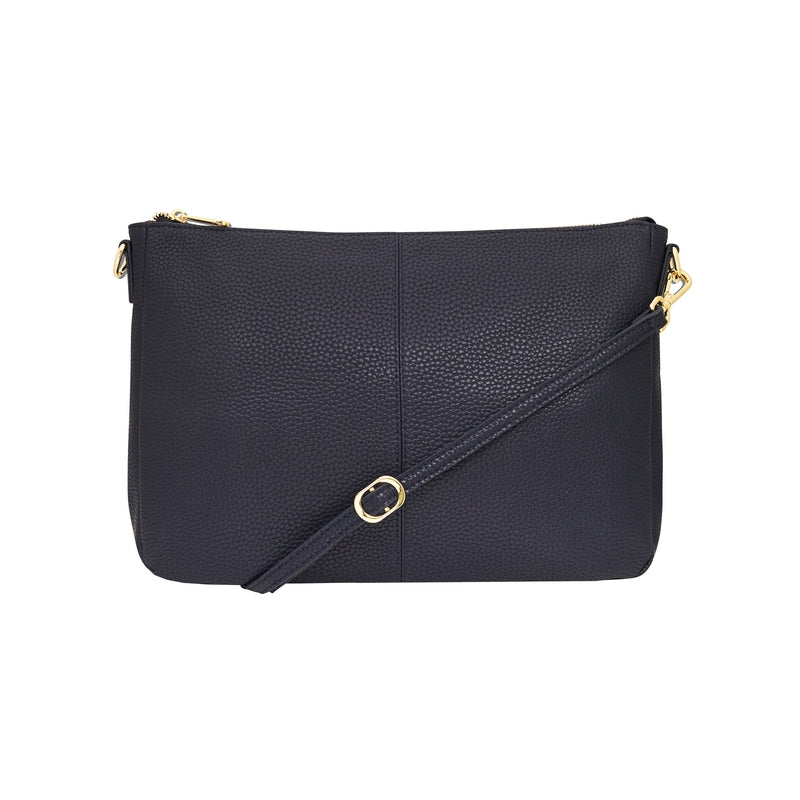 Bowery Shoulder Bag - French Navy