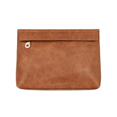 Amalfi Crossbody  - Tan Pebble