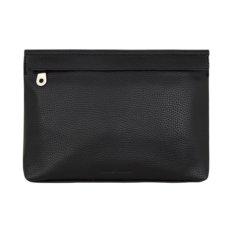 Amalfi Clutch  - Black