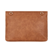 Amalfi Clutch  - Tan Pebble