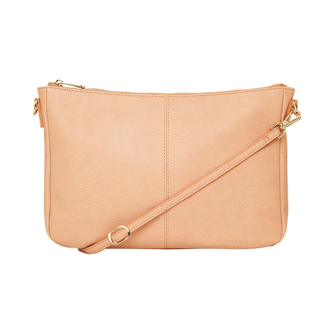 Bowery Soft Shoulder Bag -  Camel