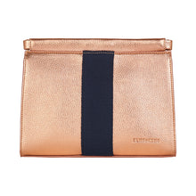 Lexington Clutch - Metallic Rose