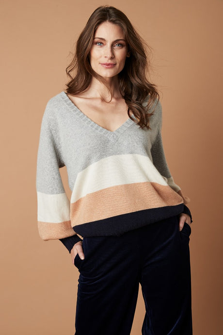 Sorrento Knit - Grey Multicolour
