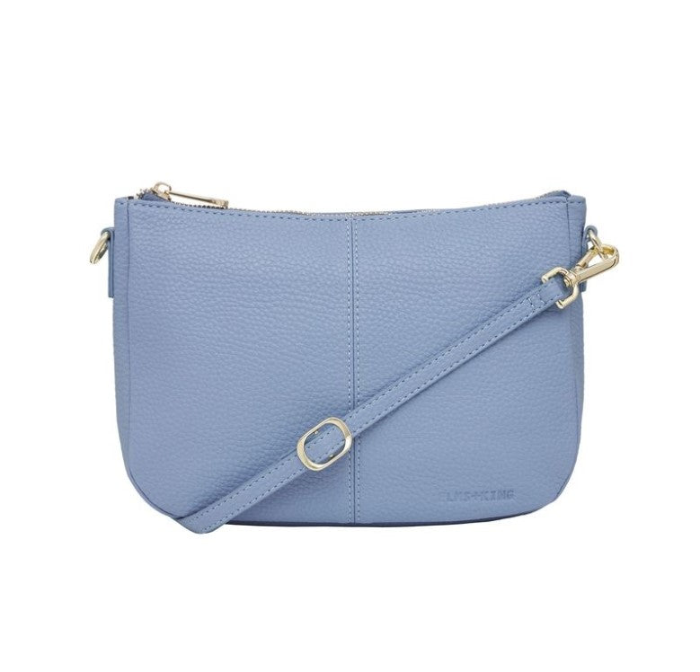 Small Bowery Shoulder Bag - Blue Bell