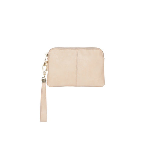 Bowery Coin Purse w/Wristlet - Nude