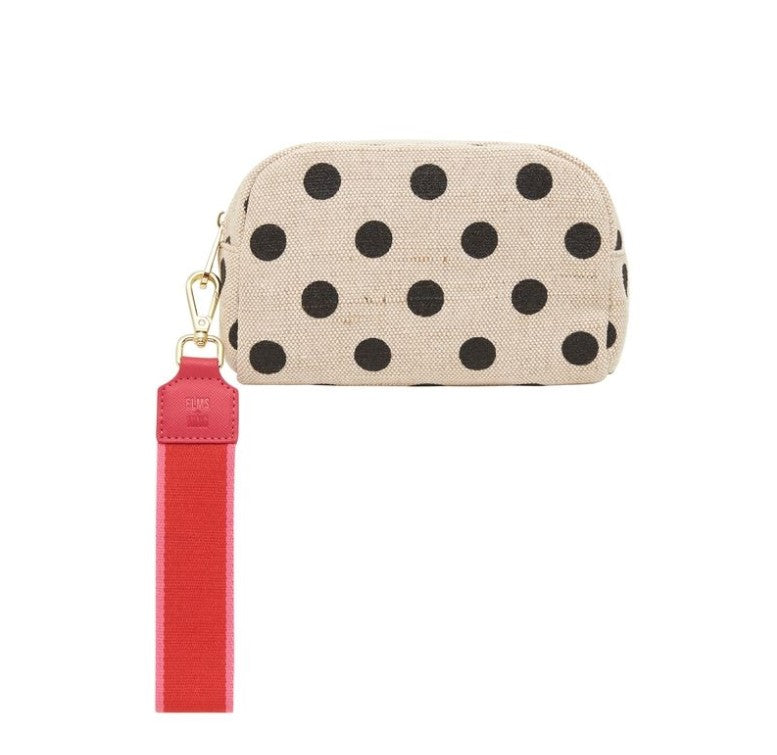 EK Small Cosmetics Bag - Black Spot