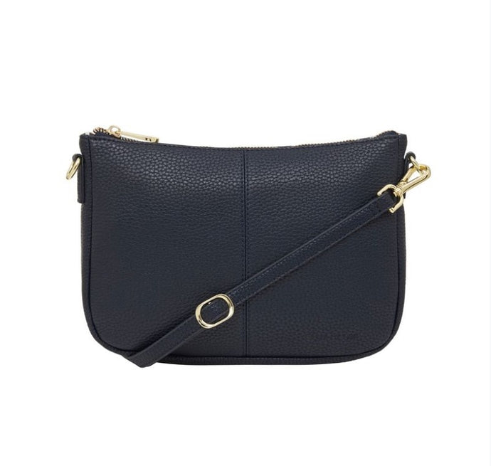 Small Bowery Shoulder Bag - French Navy