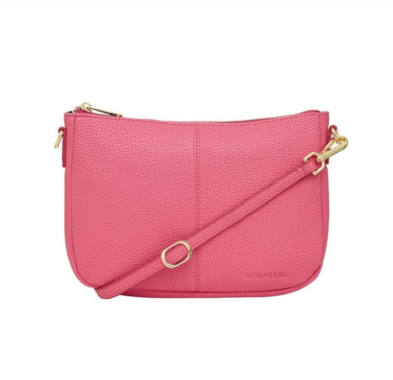 Small Bowery Shoulder Bag - Fuchsia