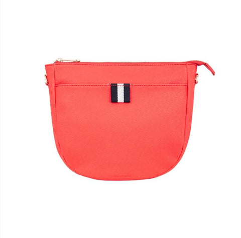 New York Shoulder Bag - Camellia Red