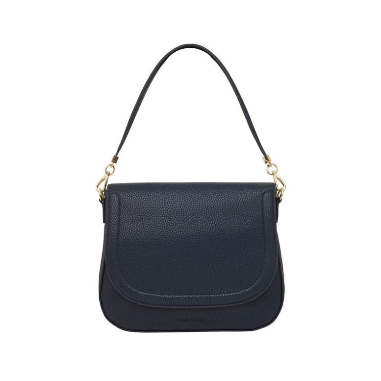 Ferrara Saddle Bag - Navy Pebble