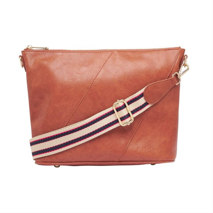 Balmoral Crossbody - Tan Pebble