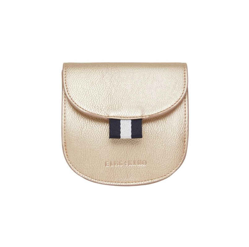 New York Purse - Light Gold