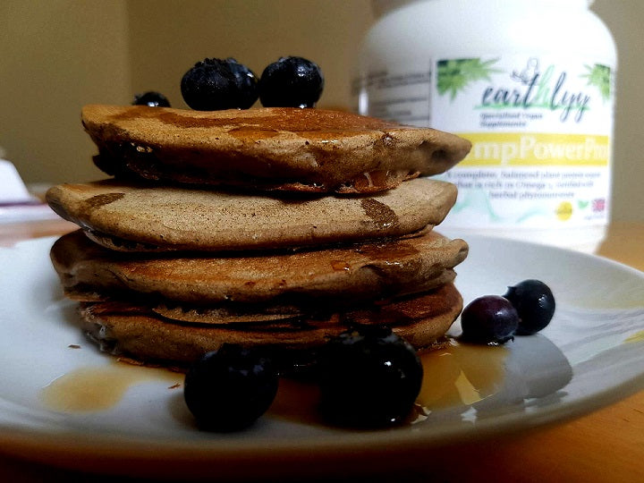 RECIPE: Easy Vegan Protein Pancakes