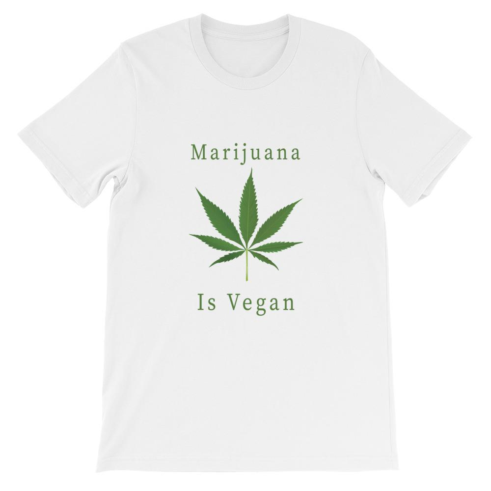 Weed is Vegan Unisex T-Shirt