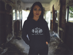 Powered By Plants Hoodie