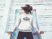 Powered By Plants Lotus Hoodie
