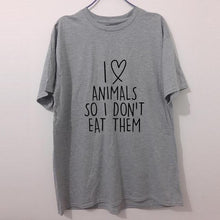 I Love Animals Printed Tee