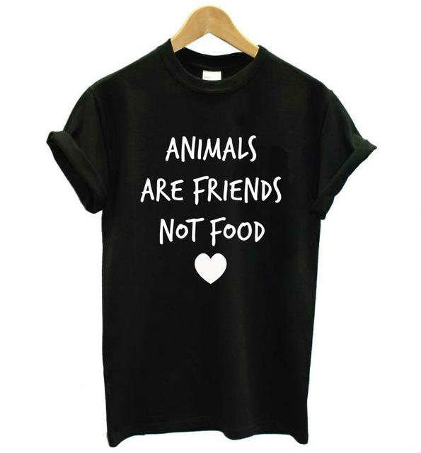 Animals are Friends Printed Tee