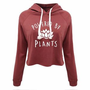 Powered By Plants Hooded Sweatshirt